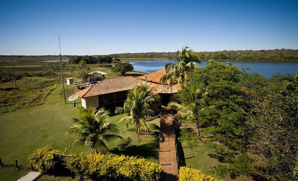 Um refúgio no Pantanal