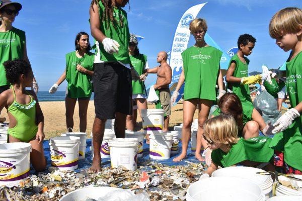 mutirão oceano limpo