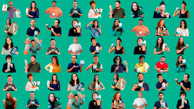 Dia do Trabalhador: Mosaico com fotos dos colaboradores da Positiv.a.